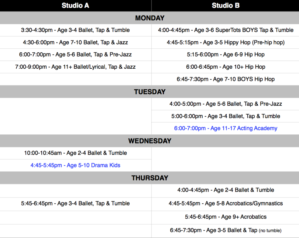 2016 Lesson Schedule For Yw | just b.CAUSE