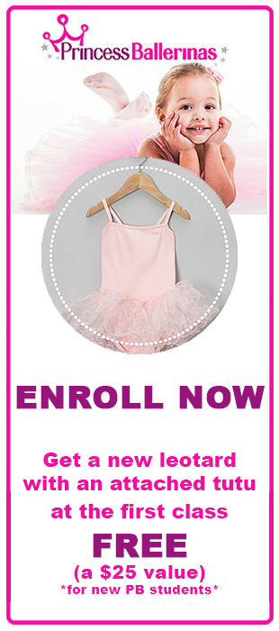 Enroll now and Get a FREE Tutu!
