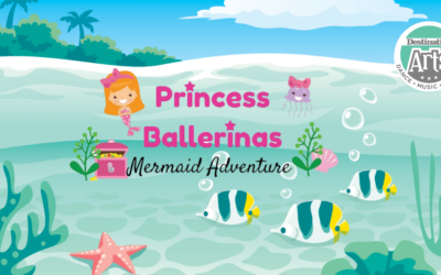 "Join us for our Princess Ballerinas ""Mermaid Adventure"" Camp!"
