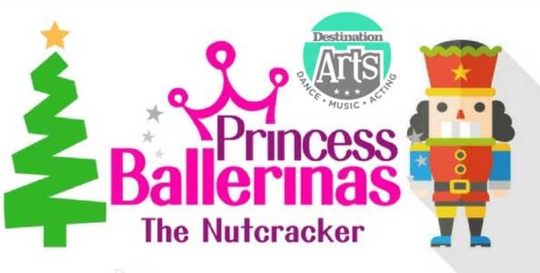 """Join us for our Princess Ballerinas """"Nutcracker"""" Camp!"""