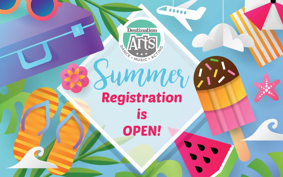 Summer 2018 Is Open for Registration!